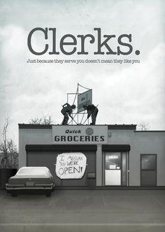 Clerks by Domanic Li for Cult Cinema Sunday