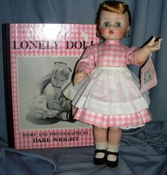 1958  Madame Alexander Edith the Lonely Doll with Book  found on Ruby Lane