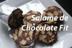 77. Salame de Chocolate Fit / Saudável Com Whey Myprotein