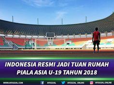 Seputargoal - Federasi Sepakbola Asia [AFC] baru saja membuat sebuah keputusan penting yang berdampak pada Indonesia. AFC resmi menetapkan Indonesia sebagai tuan rumah Piala Asia U-19 untuk edisi tahun 2018 yang akan datang.  Keputusan tersebut diambil dalam rapat Komite Kompetisi AFC yang digelar di Kuala Lumpur, Selasa (25/7) waktu setempat. Hasil keputusan rapat tersebut juga sudah diumumkan resmi kepada publik di laman resmi AFC.  Piala Asia U-19 nantinya akan digelar pada periode 18…