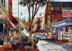 Waynesville NC - Nestled in the Smoky Mountains Along the Blue Ridge Parkway in Beautiful Western North Carolina