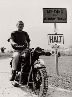McQueen's Machines: The Cars and Bikes of a Hollywood Icon. Click to buy! #legend #icon