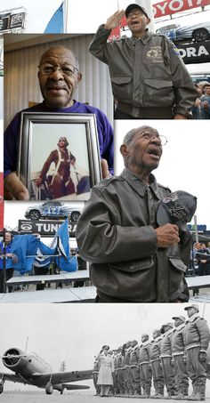 George Hickman (1924-Aug. 19, 2012)  was one of the military pilots and ground crew known as the Tuskegee airmen who fought in World War II. In 2007, he & other Tuskegee airmen traveled to Washington to receive the Congressional Gold Medal. In 2009,
