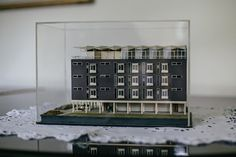 Original 1960s Goodhart Building architectural model 1960s, University, College, The Originals, Architecture, Holiday Decor, Building, Model, Home Decor