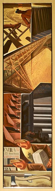 Pulp and Paper, Design Exchange,  Charles Comfort by colros, via Flickr