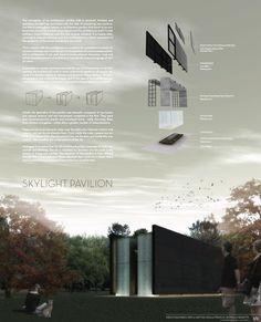 Sky Light Pavilion / Nimbu,competition panel 01