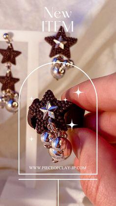 Black Star, Designer Earrings, Stars, Metal, Sterne, Metals, Star