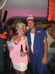 White Trash Homemade Costumes | ll start by posting our costumes for the past 4 Halloweens in ...