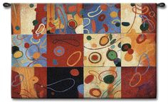 Contemporary Shapes Tapestry