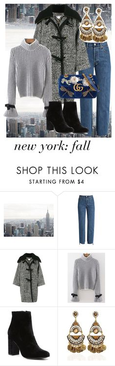 """""""new york: fall"""" by embla-elde-1 on Polyvore featuring Vetements, Chloé, WithChic, Witchery and Gucci"""