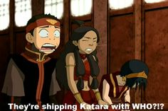 My face to Zutara, Aangs especially :D Sorry Zutara shippers