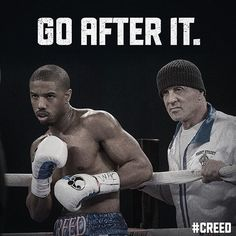 A fight you won't want to miss. Own on Digital now & on Blu-ray™ Rocky Series, Rocky Film, Movie Titles, Movie Quotes, Creed Movie, Apollo Creed, Rocky Balboa, The Expendables, Movie Poster Art