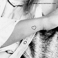 Small Heart Outline Temporary Tattoo (Set of Subtle Tattoos, Fake Tattoos, Tatoos, Neck Tattoos, Word Tattoos, Flower Tattoos, Sleeve Tattoos, Redwood Tattoo, Minimalist Tattoo Meaning