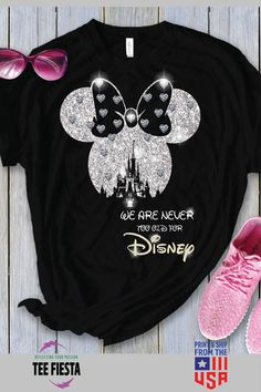 Exclusive Disney Unisex T-Shirt. Also Available In Hoodie, Mug, Poster And More! All Products Are Made-To-Order And Proudly Printed With The Best Screen Printing Or Print To Garment Processes Available. Cute Disney Outfits, Disney World Outfits, Disney World Shirts, Disney Tees, Disney Shirts For Family, Disney Family, Disney Vacation Shirts, Disneyland Shirts, Disney Christmas Shirts