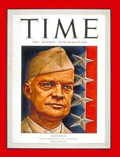 Time Magazine, September 13, 1943, Vol. XLII No. 11 US Edition, Dwight D. Eisenhower