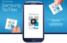 Samsung TecTiles programmable NFC tags for the Galaxy S3