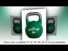 CFF 24 kg Pro Competition Russian Kettlebell (Girya) Great for Cross Training and MMA Training! - Review | GettingInShape