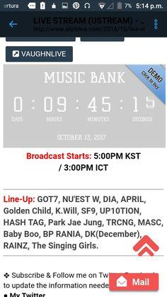 """SF9 se presentará en Music Bank para empezar con las promociones de su álbum """"Knights Of The Sun""""  Ahora subo los horarios"""