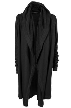 Ovate | Long draped front cardigan