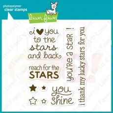 Lawn Fawn Clear Stamp - Lucky Stars
