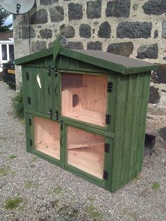 This is our Cairnie Penthouse #rabbit hutch
