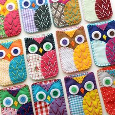 Love this from CustomMade--such cute owl phone cases. Could use for ipods too.