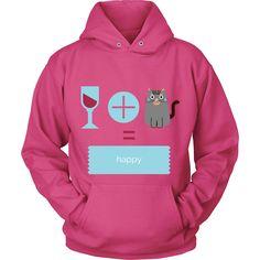 Wine   Cats = Happy :)