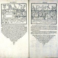 """splendida immagine di uno dei libri più ambiti nella storia della bibliofilia: Hypnerotomachia Poliphili (""""Amoroso combattimento onirico di Polifilo""""), Aldo Manuzio, 1499"""