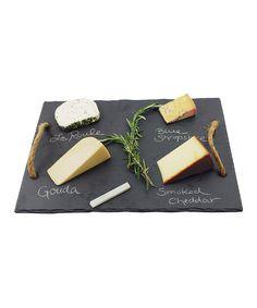 Vintage Vine Slate Cheese Board