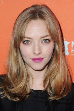 7 Ways To Wear Bangs, As Shown By Celebs This Week #refinery29 http://www.refinery29.com/2016/09/124837/amanda-seyfried-taylor-swift-new-bangs-trend#slide-5 Amanda SeyfriedWe're digging the way these curtain bangs — parted in the middle, with tapered layers toward the temples — open up the whole face and make cheekbones look especially strong....