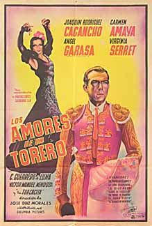 Posteritati: LOVES OF A BULLFIGHTER, THE 1946 Argentine 1 Sheet (29x43)