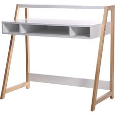 Features: Durable white lacquered MDF surface Solid pine wood frame Natural lacquered solid wood Wipe clean with soft damp cloth buff dry Desk T Bureau Design, Kids Table And Chairs, Kid Table, Buy Desk, Storing Books, Large Desk, Desk Set, Wood Desk, Drafting Desk