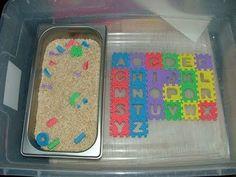 Alphabet Work