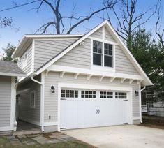 Aspen Craftsman Style Custom Wood Garage Door | Etsy Garage Door Trim, Garage Door Styles, Garage Exterior, Garage Door Makeover, Wood Garage Doors, Garage Door Design, Modern Exterior, Exterior Doors, Exterior Design