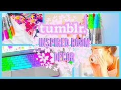 SUMMER ROOM DECOR! Tumblr Inspired! - YouTube