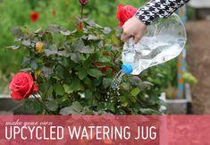 upcycled watering jug