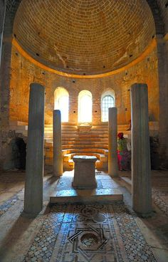 Altar in St. Nicholas Church in #Demre - must visit place for all good Christians