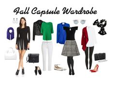 Fall capsule wardrobe that is DYT Type 4. The Autumn set of outfits uses colors that are Dressing Your Truth Type Four. T4 outfits that can be worn to work or mix and matched for a more casual setting. Fall clothing for people with winter coloring.