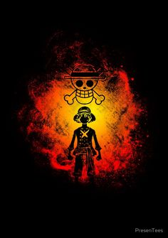 One Piece || Silhouette Luffy