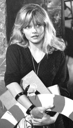 Michelle Pfeiffer in the movie Grease 2.
