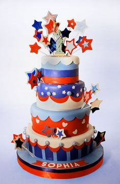 fourth of july cake decorating ideas