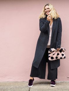 My Style: The coolest way to wear the fabric of the season (clue: on your feet) - The Edited/ Erica Davies