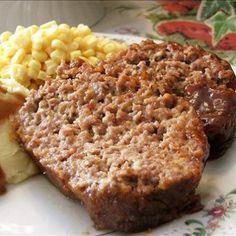 Welcome Home: ♥ Brown Sugar Meatloaf