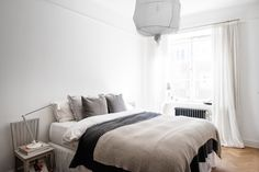 An Inspiring Apartment for Fans of White, Black and Grey - NordicDesign