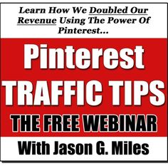 60 minute Pinterest Marketing Webinar with Jason Miles, via SoundCloud - Just click the orange play button to listen directly in Pinterest.