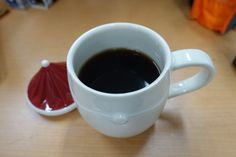 My first cup of coffee of the day