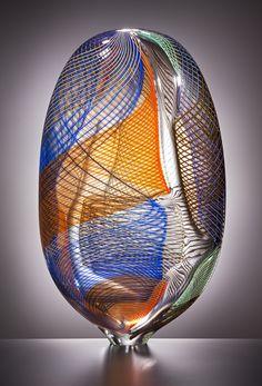 ....Lino Tagliapietra | OSTUNI by Lino Tagliapietra at Schantz Galleries....Blown Glass,