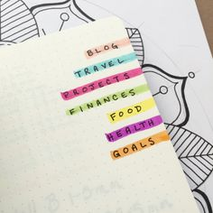 The beauty of the Bullet Journal system is its flexibility and adaptability. Here's 12 productivity hacks to take your Bullet Journal to the next level! How To Bullet Journal, Bullet Journal Inspo, Bullet Journals, Bullet Journal Sections, Journal Layout, My Journal, Calendar Journal, Journal Inspiration, Journal Ideas