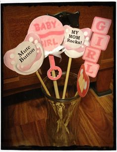 These print out are adorable Baby Shower Photo Props, Baby Shower Photos, Baby Shower Games, Baby Shower Parties, Snowflake Baby Shower, Christmas Baby Shower, Printable Baby Shower Invitations, Baby Shower Printables, Ballerina Baby Showers