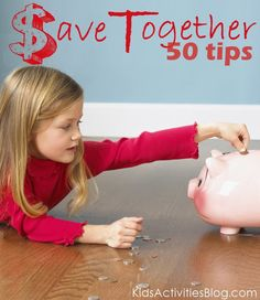 50 Tips on How Families can SAVE MONEY together